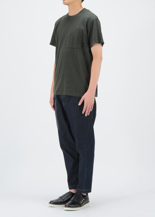ZUCCa / S メンズ バックロゴTシャツ / Tシャツ