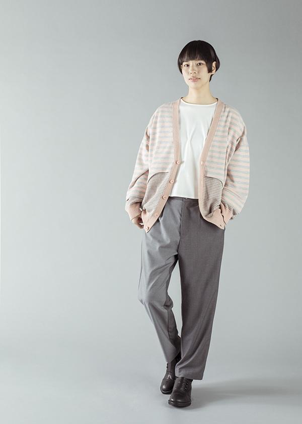 ネ・ネット / ヨークニット裏毛 / カーディガン