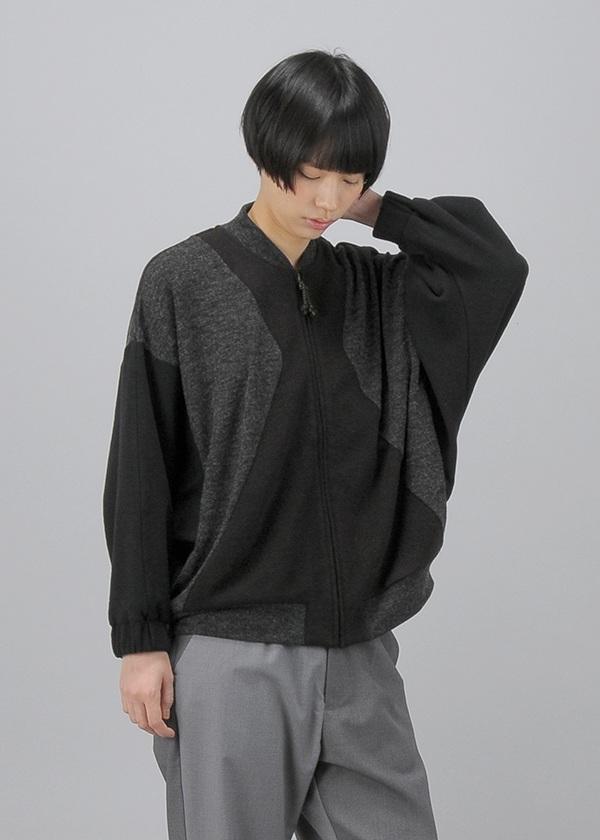 ネ・ネット / (O) ミックスパッチジャージ / 羽織り