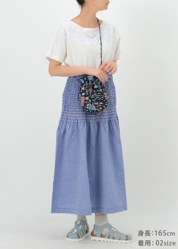 ネ・ネット / GF tissueシャンブレー / スカート