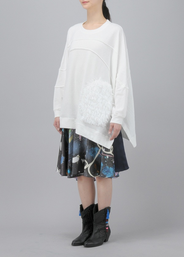 TSUMORI CHISATO / (O) スウィッチング裏毛 / カットソー