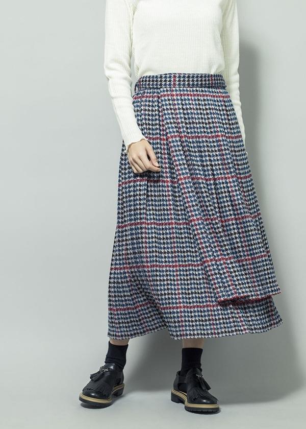ネ・ネット / ちどりプリーツ / スカート