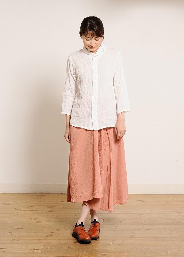 Plantation L-line / ペーパーCrepe / スカート
