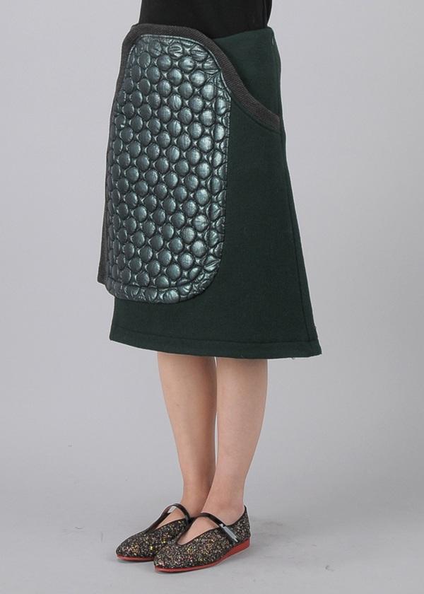 TSUMORI CHISATO / S メルトン&キルト / スカート
