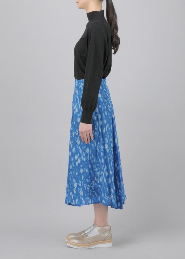 ZUCCa / クリスタルプリント / スカート