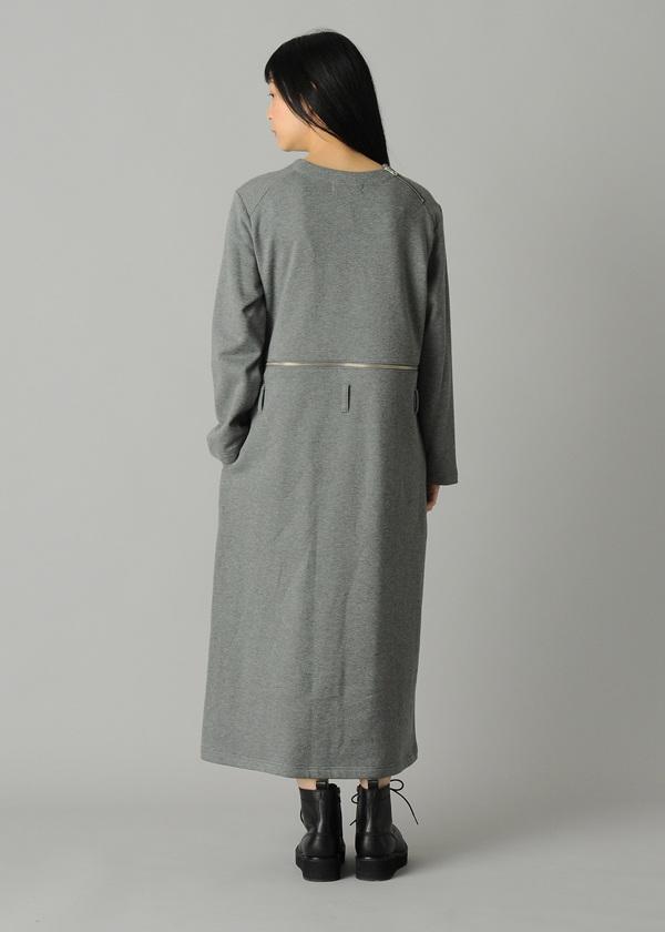 ZUCCa / S ファスナー裏毛 / ワンピース