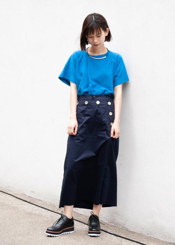 ZUCCa / GF ストレッチタイプライター / スカート