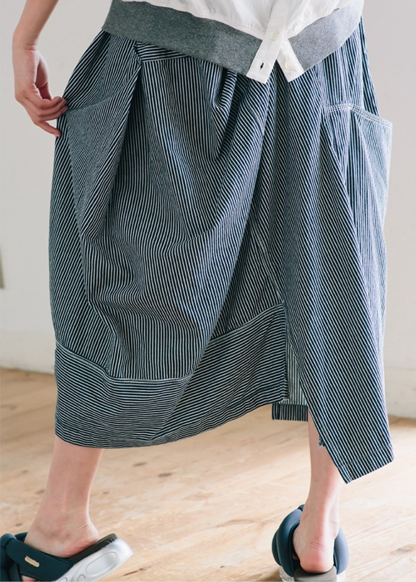 <先行予約> B:ヒッコリー / スカート