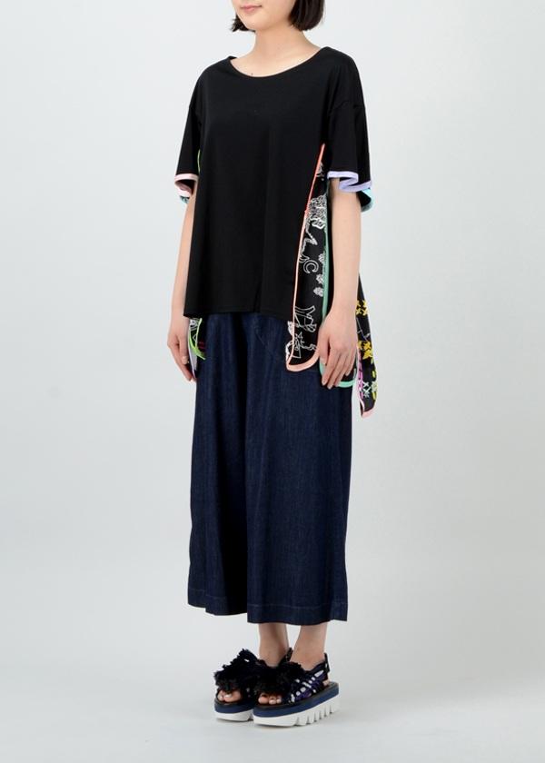 TSUMORI CHISATO / S パラダイスアニマルドッキングT / Tシャツ