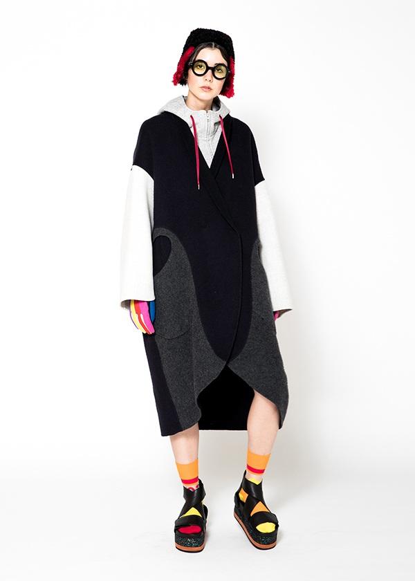 TSUMORI CHISATO / S ウールドッキング / コート