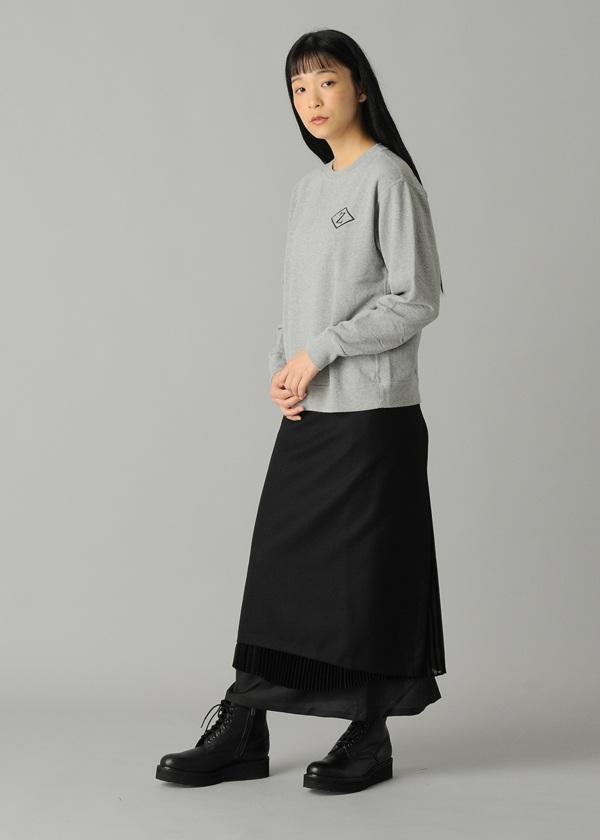 ZUCCa / S プリーツサキソニー / スカート