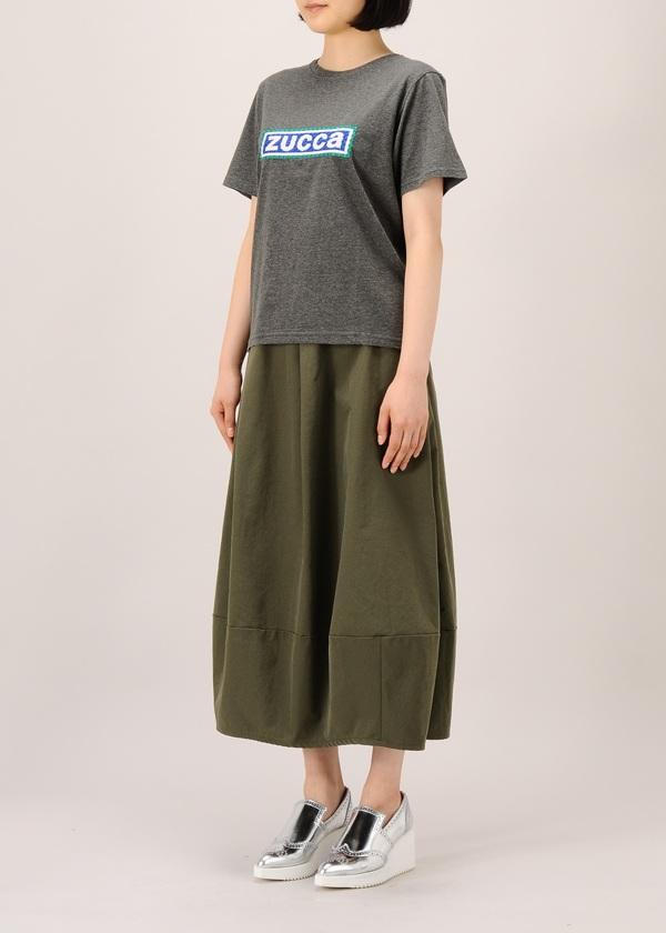 ZUCCa / エンブロイダリーロゴTシャツ / Tシャツ