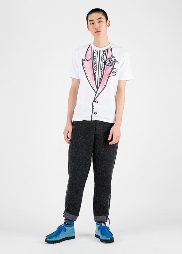 TSUMORI CHISATO / メンズ コットンシルクツイード / パンツ