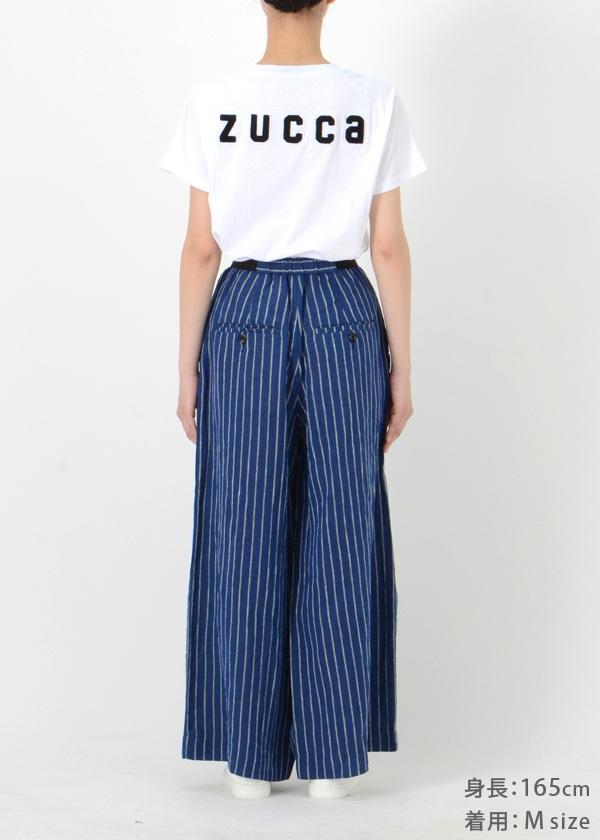 ZUCCa / GF リネンストライプ / パンツ
