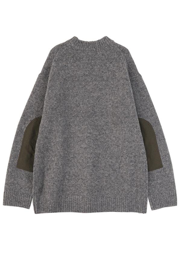 ZUCCa / S メンズ ソフトバルキーセーター / ニット
