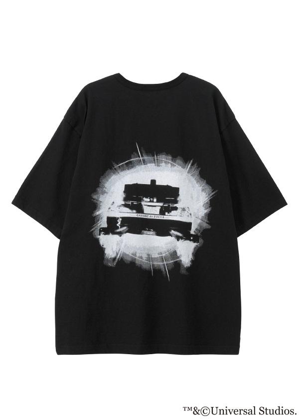 ZUCCa × BACK TO THE FUTURE / メンズ DE LOREAN T 1 / Tシャツ
