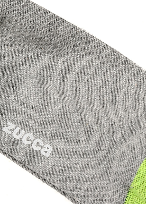 ZUCCa / メンズ パーツリブソックス / ソックス