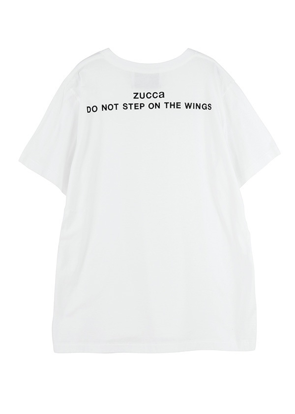 ZUCCa / S メンズ DO NOT STEP ON THE WINGS / Tシャツ