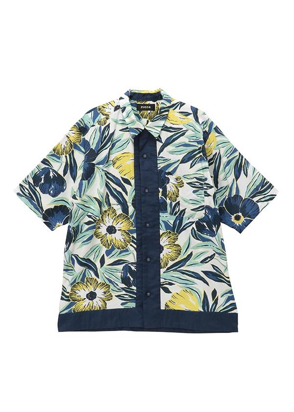 ZUCCa / メンズ フラワープリント / シャツ