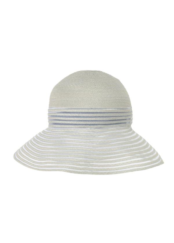Plantation / S シースルーリネンアバカブレード / 帽子
