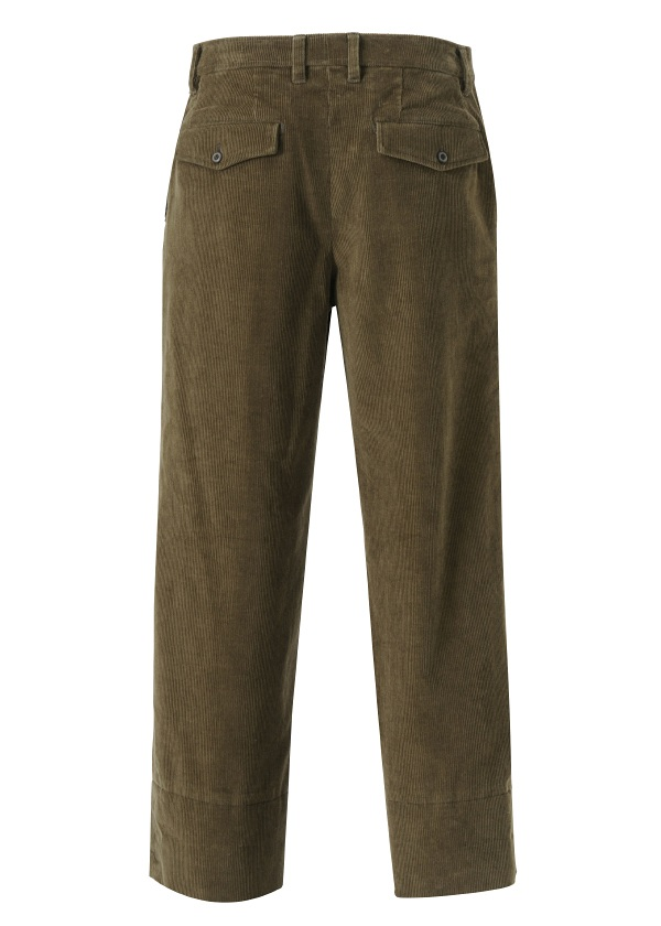 S corduroy straight pants