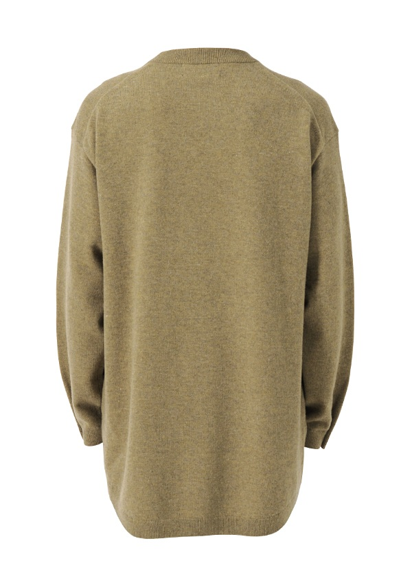 S lamb wool over size knit
