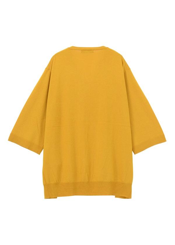 ZUCCa / S ウールレーヨンセーター / ポロシャツ