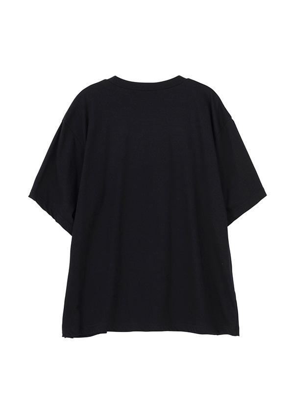 ZUCCa / S スリーブスリットTシャツ / Tシャツ