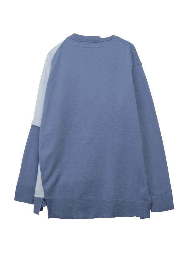 ZUCCa / ドッキングセーター / ニット