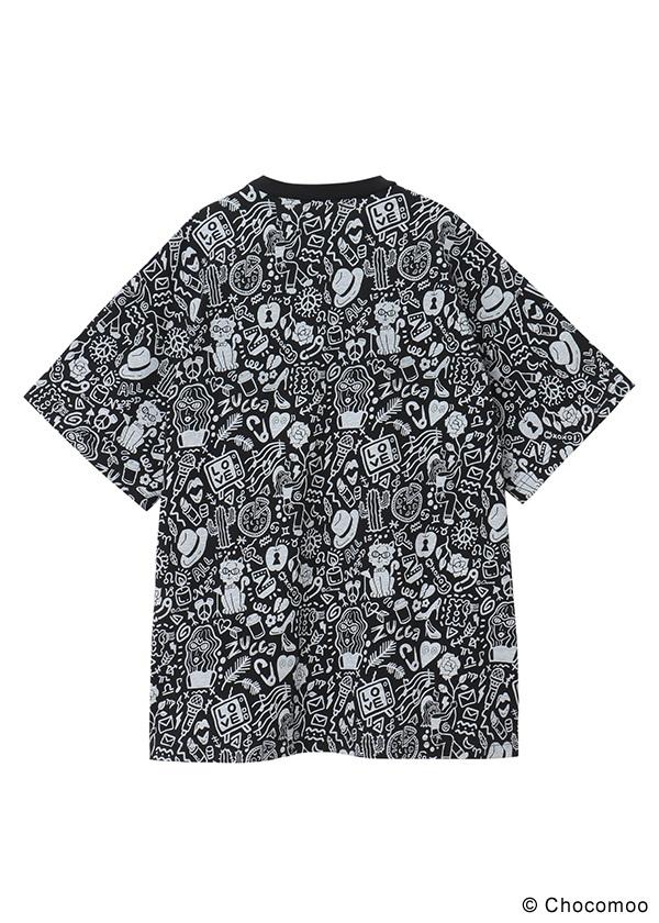 ZUCCa / Chocomoo×ZUCCa マルチ BIG T / Tシャツ