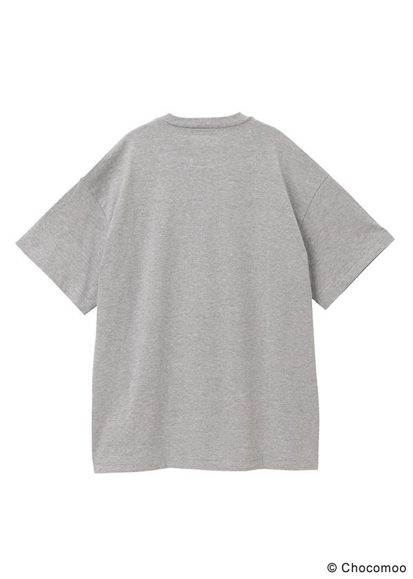 <先行予約> ZUCCa / (S)Chocomoo×ZUCCa BIG T 100% / Tシャツ