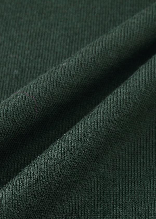 ZUCCa / メンズ ウールリブセーター / ニット