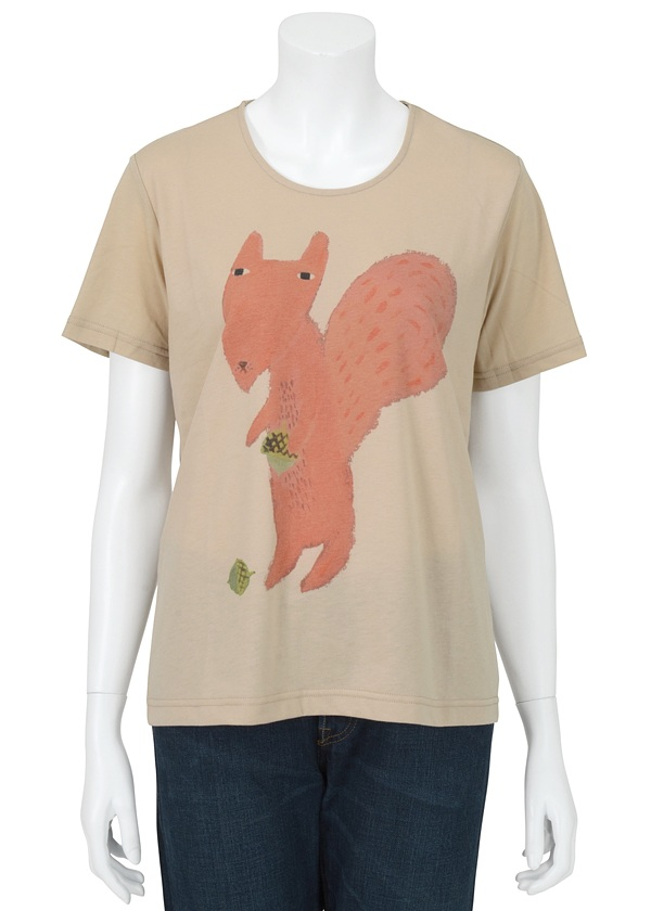 �l�E�l�b�g / S Donna Wilson squirell fox in leaves / T�V���c