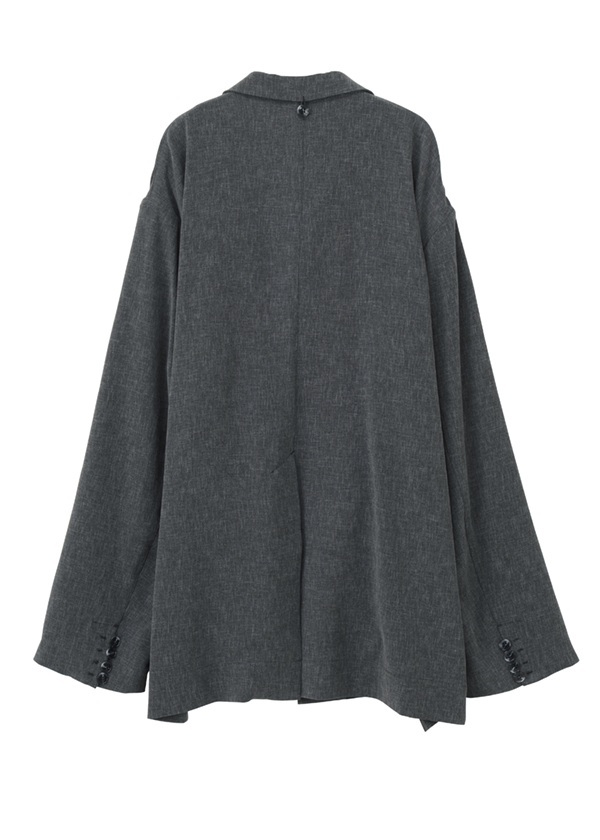 S Fly Front Jacket