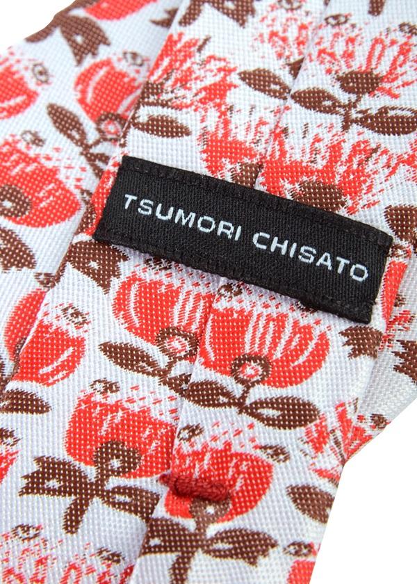 TSUMORI CHISATO / メンズ プチニュージーフラワータイ / ネクタイ