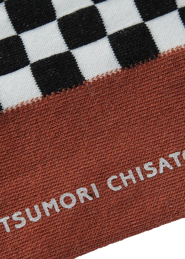 TSUMORI CHISATO / S メンズ チェッカーソックス / ソックス