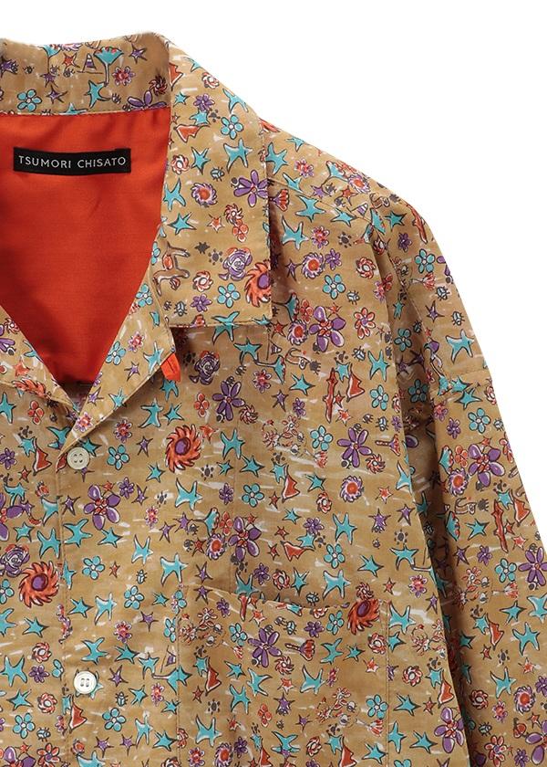 TSUMORI CHISATO / さばくの花コットンシャツ / シャツ