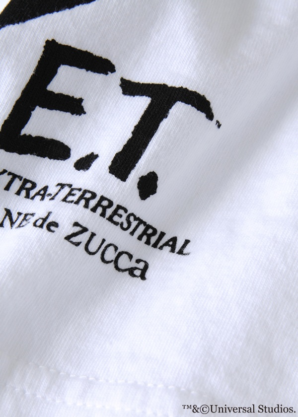 ZUCCa / E.T. PRINT T / カットソー