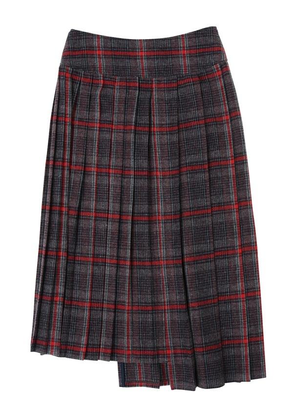 ZUCCa / グレンチェック / スカート