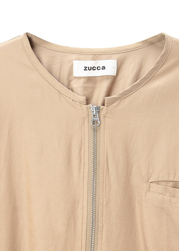 ZUCCa / コットンレーヨンツイル  / ブルゾン