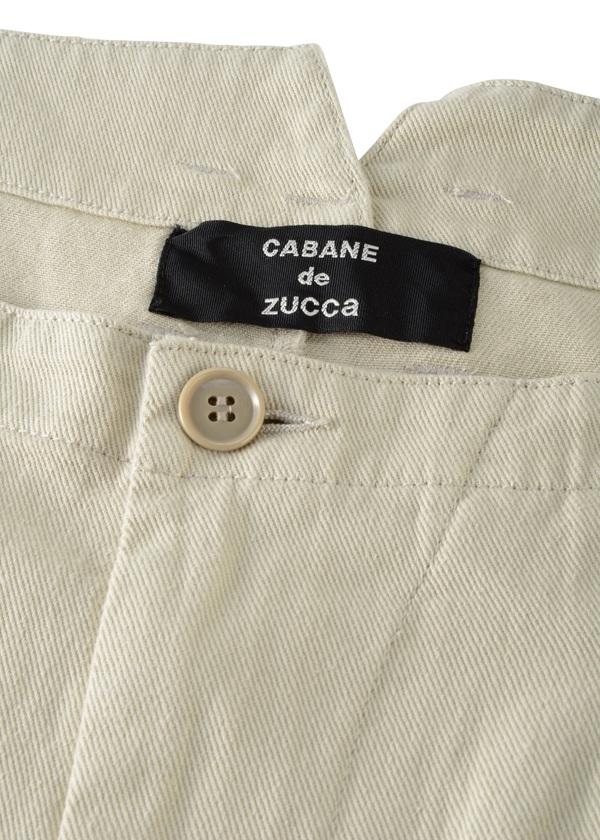 ZUCCa / S メンズ コットンギャバ / パンツ