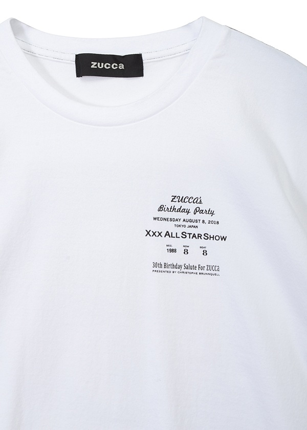 ZUCCa / S メンズ BIRTHDAY PARTY / Tシャツ