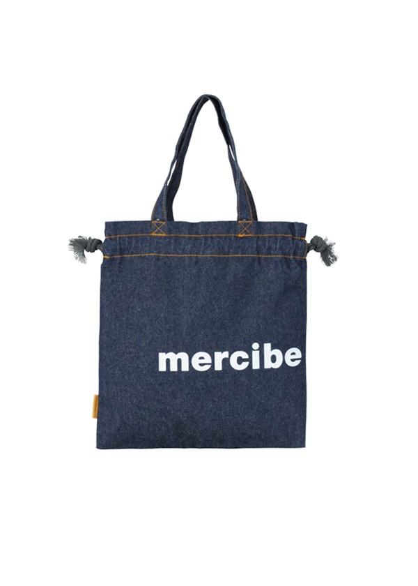 メルシーボークー、 / デニムきんちゃく / きんちゃくバッグ