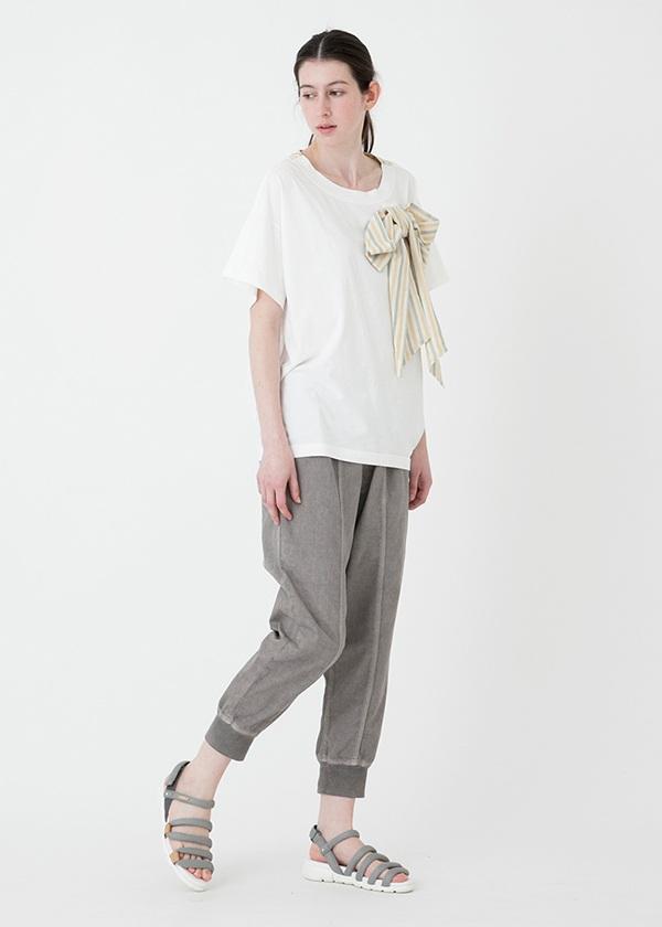 メルシーボークー、/ 【別注】 L:おリボンティー / Tシャツ