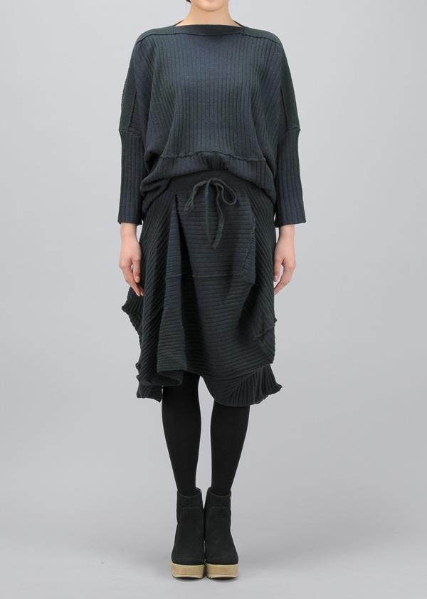 メルシーボークー、 / S ちらちらニット / スカート