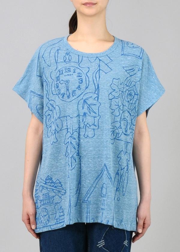 ネ・ネット / S はとどけい T / Tシャツ