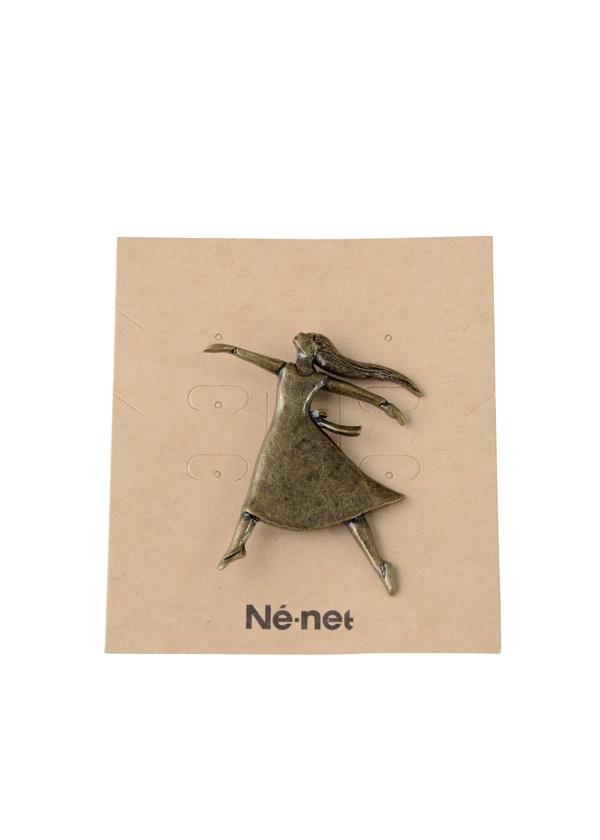 ネ・ネット / 夜の森のダンス小物 / ブローチ