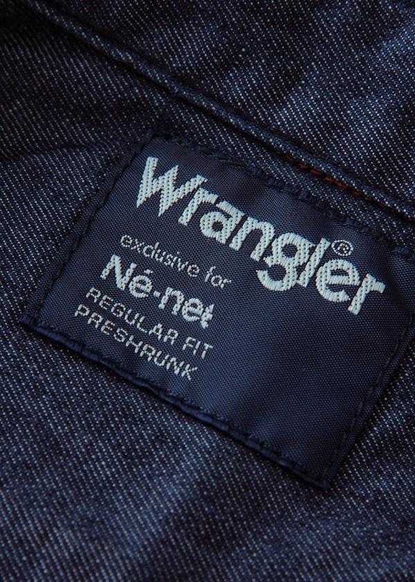 <先行予約> メンズ Wrangler WESTERN SHIRT