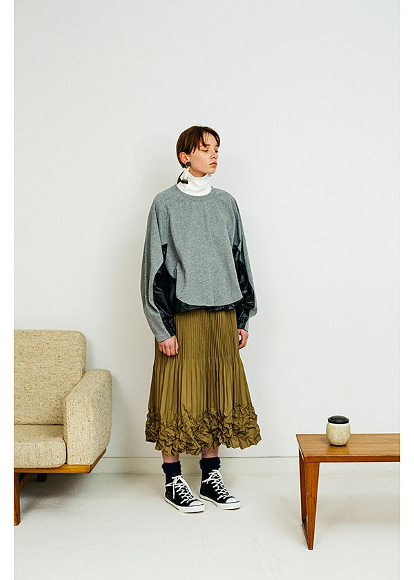 ネ・ネット / S メモリープリーツ / スカート