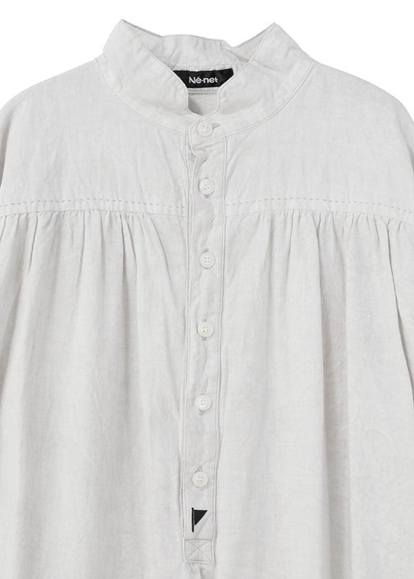 ネ・ネット / スミゾメフラッグシャツ / ワンピース